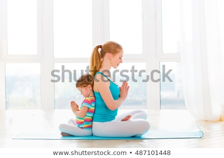girl is engaged in gymnastics 2 Stock photo © Paha_L