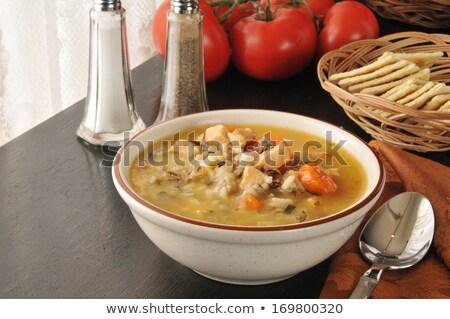 pirinç · fincan · havuç · gıda - stok fotoğraf © ozgur