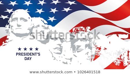 Dzień USA patriotyczny symbolika ilustracja wektora Zdjęcia stock © orensila