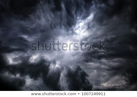 Dark stormy clouds Stock photo © stevanovicigor