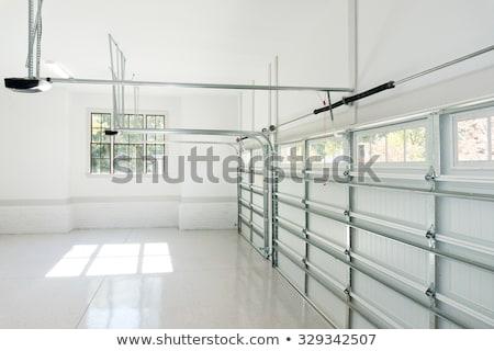 Сток-фото: Two Garage Doors