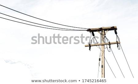 Elétrico ferro construção metal cabo industrial Foto stock © mayboro1964