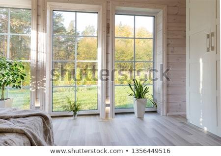 Иллюстрация окна дома клипарты, векторы, и набор иллюстраций.