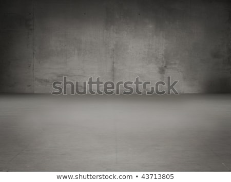 Stock photo: old grunge gray interior