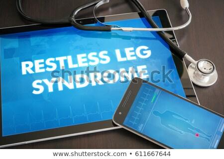 comprimido · diagnóstico · dormir · exibir · computador · médico - foto stock © zerbor