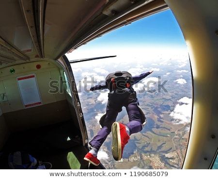 Skydiving Stock photo © bluering