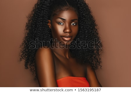 Beautiful Black Woman stock photo © keeweeboy