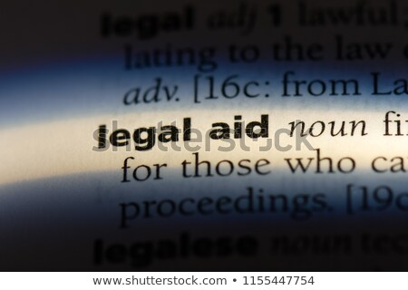 Legal Aid Concept Stock photo © Lightsource