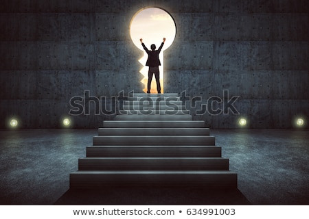 Opportunity Staircase Choice Stock photo © Lightsource