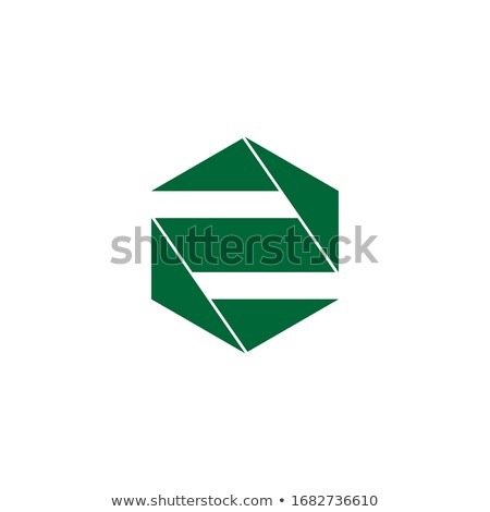 3d abstract style logo with number 2 Stock photo © SArts