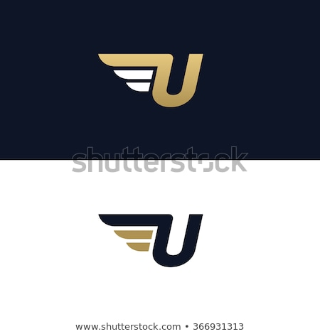 speeding letter u logo design stock photo © sarts