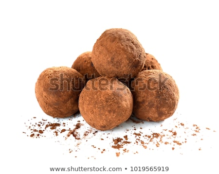 Cocoa dusted chocolate truffle Stock photo © Digifoodstock