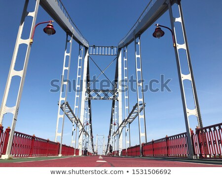 Pedestrian bridge. Kiev, Ukraine Stock photo © joyr