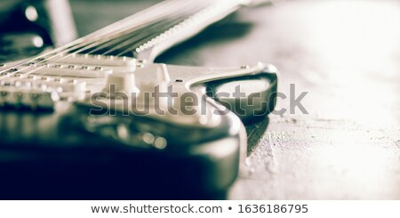 Classical Guitar Close Up Stock photo © lincolnrogers