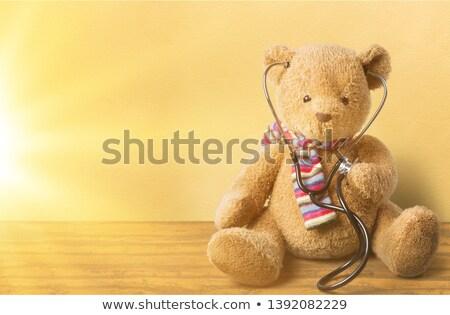 小児科医 医師 テディベア 立って ストックフォト © RAStudio