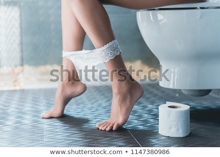 woman legs in toilet Stock photo © ssuaphoto