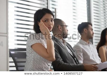 Asian zakenman professionele is mislukt ontdaan baan Stockfoto © FrameAngel