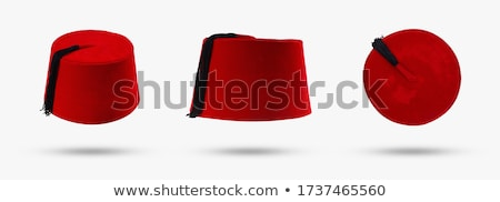 Turkish cap isolated. Turkey Hat from on white background Stock photo © popaukropa
