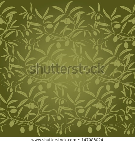 オリーブ · デザイン · 夏 · 新鮮な · オリーブ · 支店 - ストックフォト © jara3000