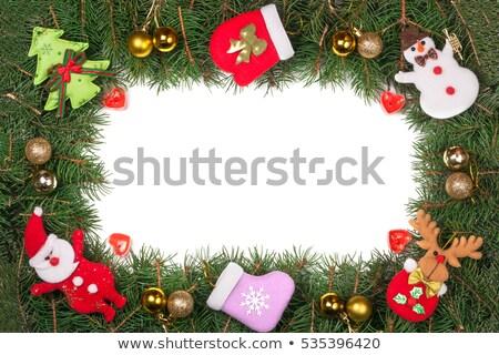 Karácsony váz gradiens háló fa természet Stock fotó © barbaliss