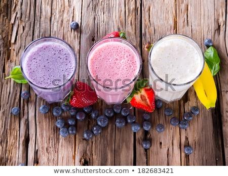 夏 · ベリー · 甘い食べ物 · ラズベリー · ブルーベリー - ストックフォト © lana_m