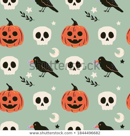 Halloween seamless pattern Stock photo © alexanderandariadna