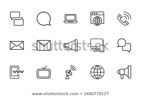 Világ internet kapcsolatok absztrakt hálózat globális kommunikáció Stock fotó © alexaldo