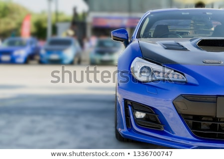 Stock photo: Old cars auction
