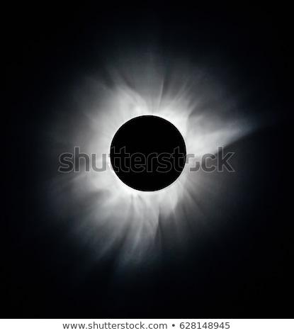 Nap fogyatkozás megfigyelés illusztráció tömeg emberek Stock fotó © lenm