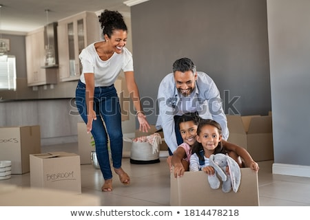 Home relocation Stock photo © Lightsource