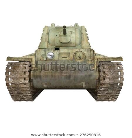 Tank Battlefield Stock photo © blamb