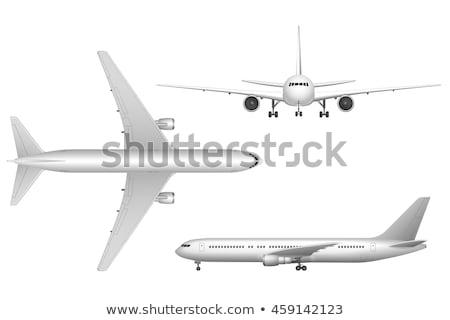 avión · viaje · negocios · 3d - foto stock © alexdanil