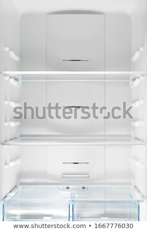 冷蔵庫 インテリア 表示 空っぽ 家庭 ストックフォト © albund