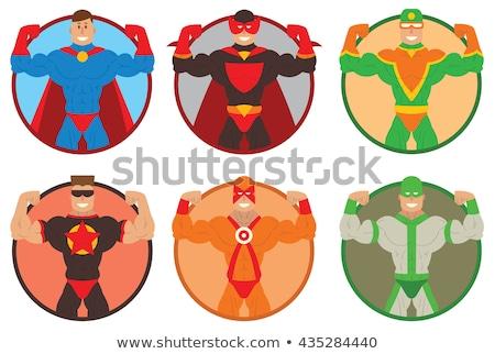 Super mighty man Stock photo © chocolatebrandy