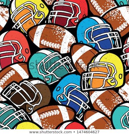 football · joueurs · ensemble · objectif · vecteur - photo stock © robuart