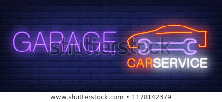 Autómobil szolgáltatás garázs profi autó mechanika Stock fotó © robuart