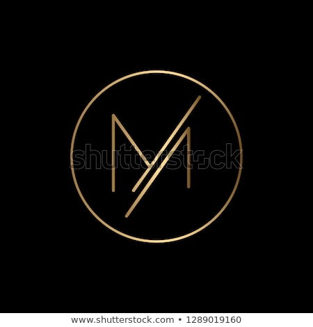 m logo colorful icon geometric sign element vector letter Stock photo © blaskorizov