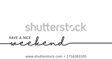 Waiting For The Weekend Loading Bar Concept Stock photo © ivelin