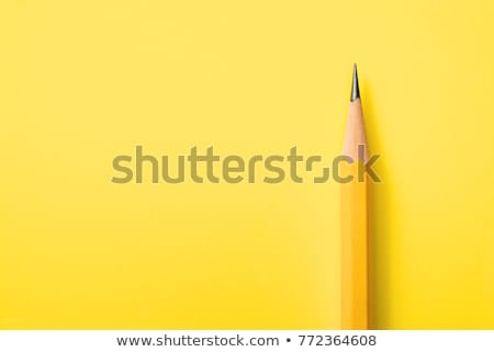 Kantoor papier icon scherp potlood pen Stockfoto © robuart