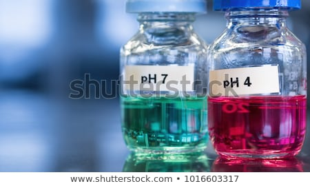 instrument for measuring acidity  Stock photo © OleksandrO