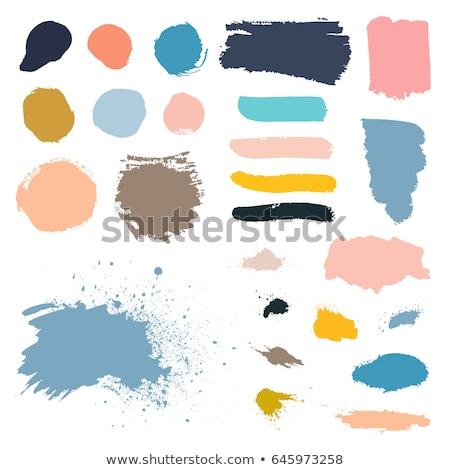 Banner colorato macchia confine business texture Foto d'archivio © adamson