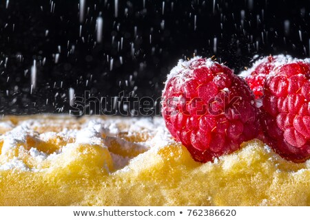 chocolade · icing · rustiek · stijl · ijs - stockfoto © dariazu