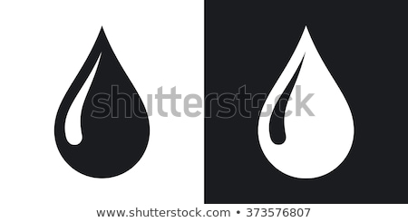 water drop icon stock photo © angelp