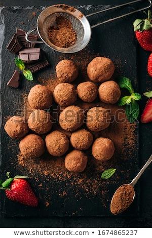 Csokoládé cukorka ősz ki arany luxus Stock fotó © Illia