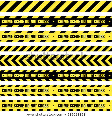 illustration of crime scene Stock photo © adrenalina