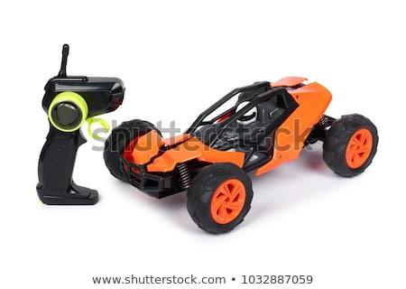 Sportu drogowego samochody górę widoku Zdjęcia stock © artjazz