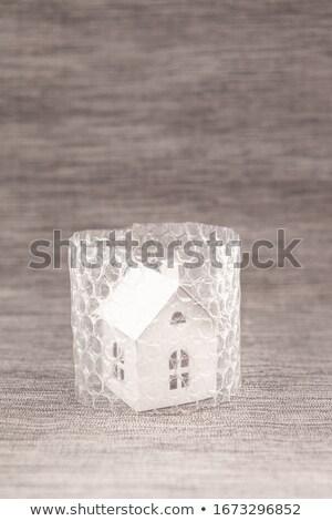Little house in bubble wrap Stock photo © BarbaraNeveu