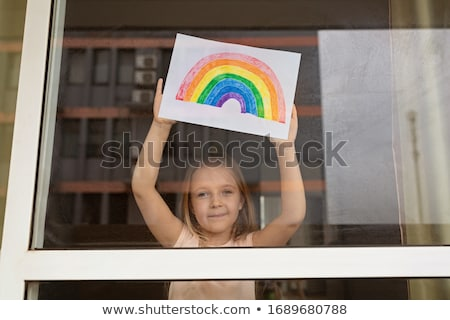 Rainbow Of Hope Stock photo © Lightsource