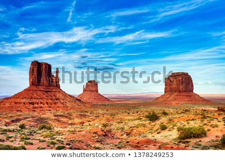 Monument Valley on the border between Arizona and Utah Stock photo © nicousnake