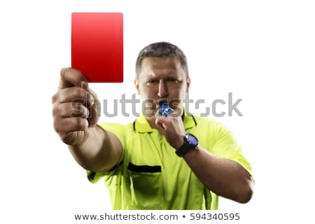 Soccer referee cards Stock photo © montego